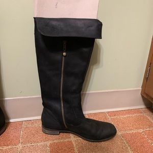 7c22bca8d31 Clark s Indigo black knee high boots size 8